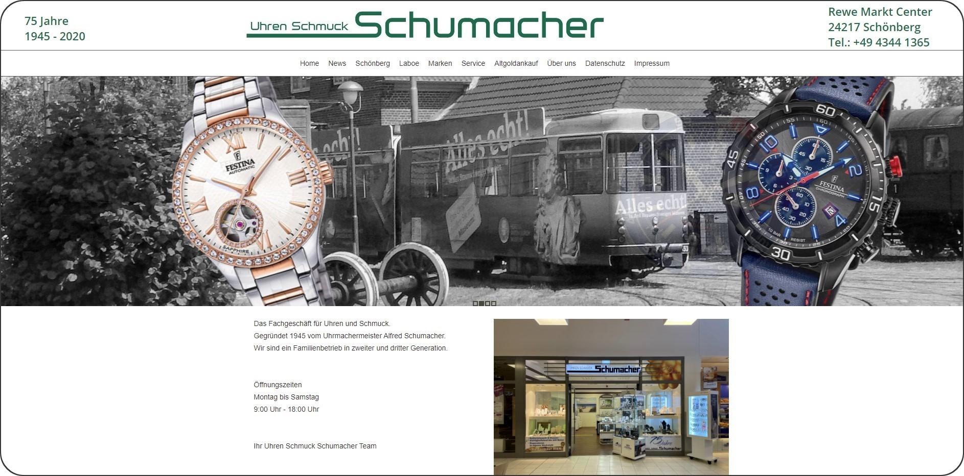 Webdesign Schumacher